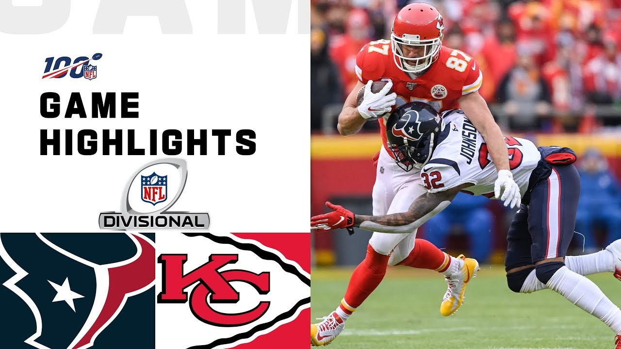 Texans vs. Chiefs Divisional Round Highlights NFL 2019 Playoffs HD quality image