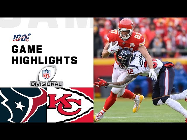 Texans vs. Chiefs Divisional Round Highlights NFL 2019 Playoffs HQ quality image