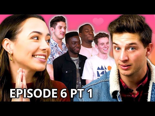 Christian Seavey vs. My 4 Boyfriends Twin My Heart w/ The Merrell Twins Season 2 EP 6 Pt 1 HQ quality image