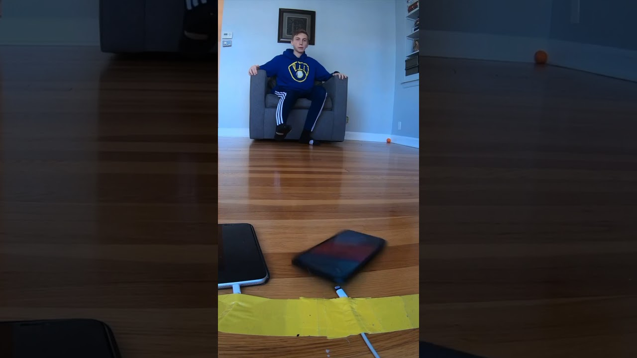 Impossible iPhone Trick Shot HD quality image