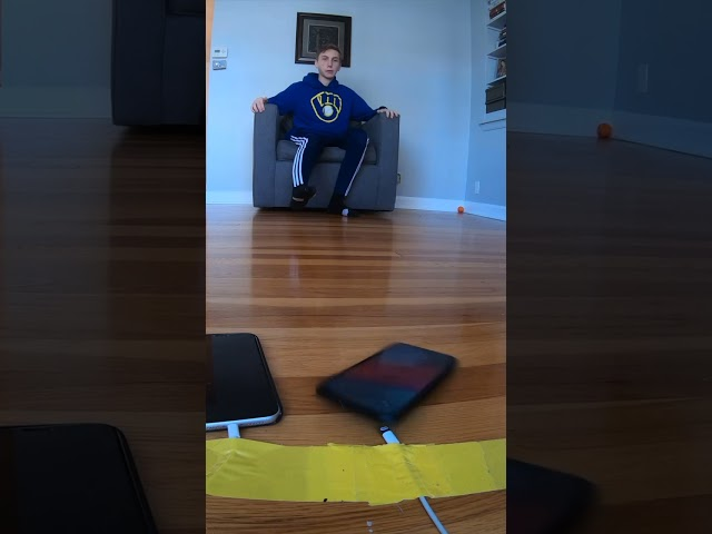 Impossible iPhone Trick Shot HQ quality image