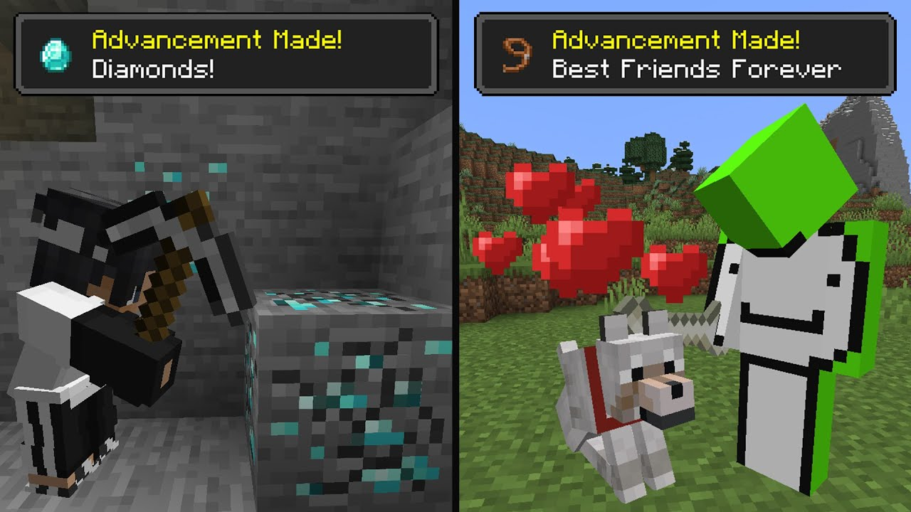 Minecraft Achievement Race... HD quality image