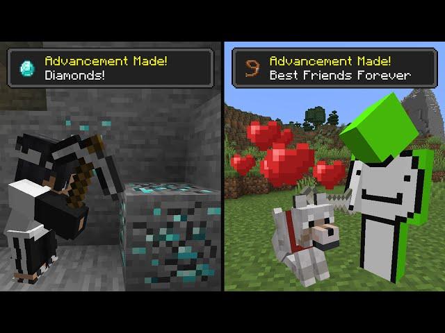 Minecraft Achievement Race... HQ quality image