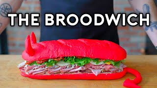 Binging with Babish: The Broodwich from Aqua Teen Hunger Force Screenshot