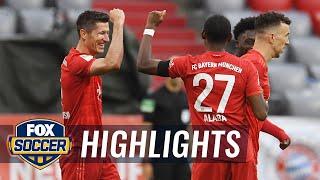 Bayern Munich out does Eintracht Frankfurt, extends lead in standings | 2020 Bundesliga Highlights Screenshot