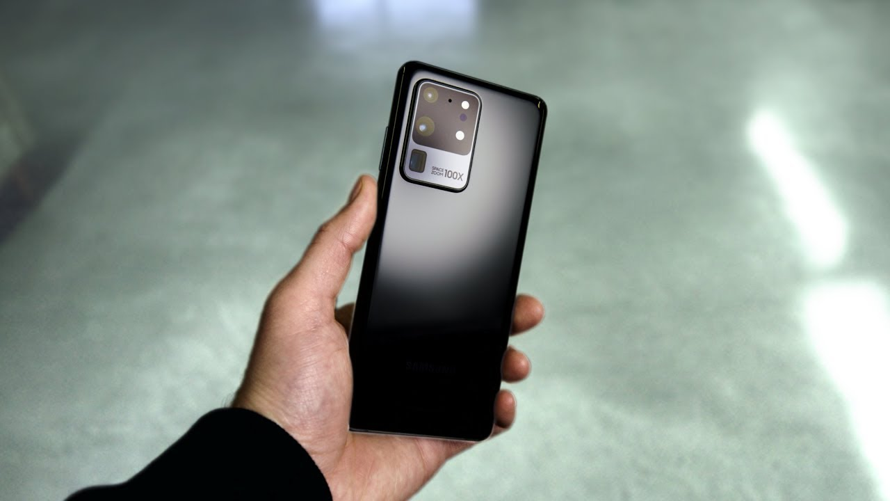 Samsung Galaxy S20 Ultra - Hands On With The Beast! HD quality image