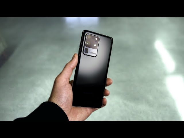 Samsung Galaxy S20 Ultra - Hands On With The Beast! HQ quality image