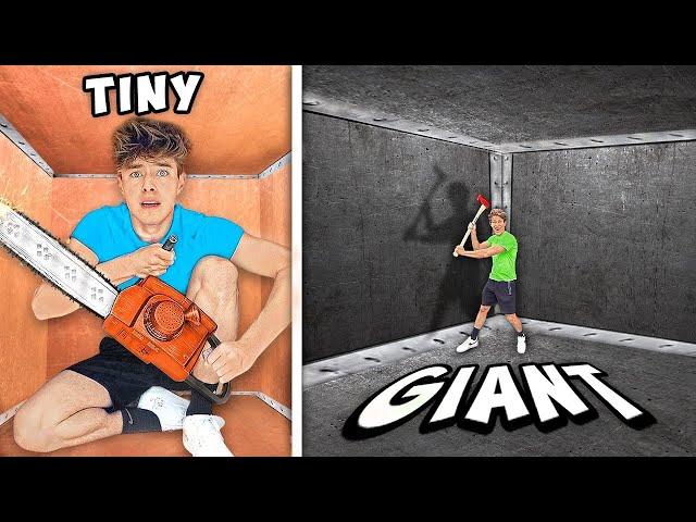 TINY VS GIANT UNBREAKABLE BOX!! HQ quality image