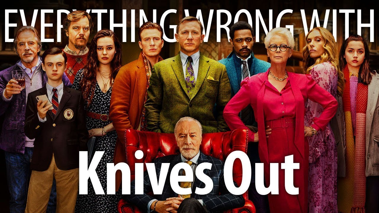 Everything Wrong With Knives Out In Whodunnit Minutes HD quality image