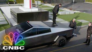ELON MUSK, JAY LENO AND THE 2021 CYBERTRUCK (FULL SEGMENT) | Jay Leno's Garage Screenshot