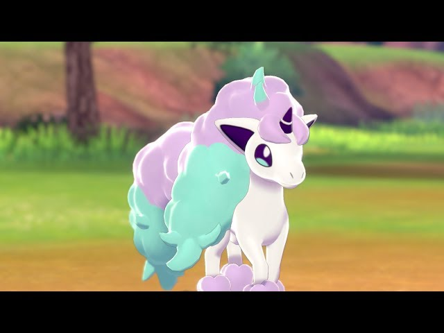 Meet Galarian Ponyta in Pokmon Shield! HQ quality image