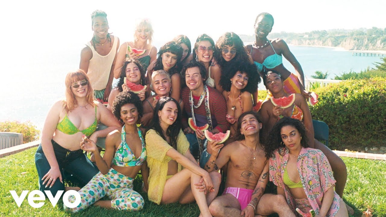 Harry Styles - Watermelon Sugar (Behind the Scenes) HD quality image