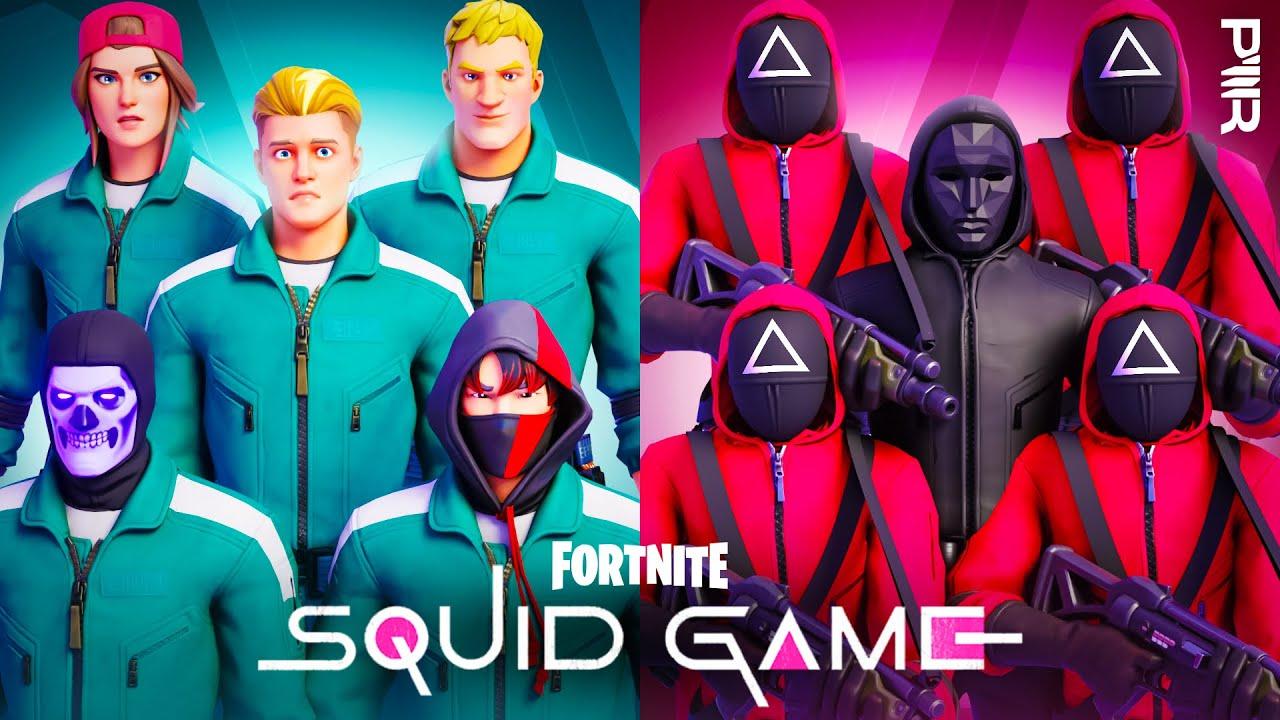 FORTNITE SQUID GAME! HD quality image