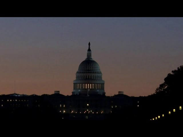 China rocket falling to Earth spotted over Washington, D.C. HQ quality image