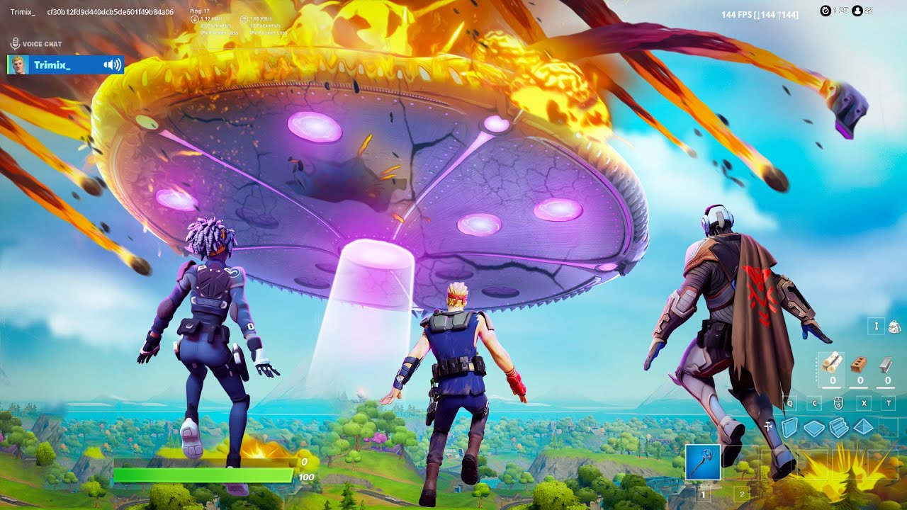 I Trolled Youtubers with a *FAKE* Fortnite Live Event! HD quality image
