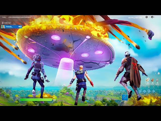 I Trolled Youtubers with a *FAKE* Fortnite Live Event! HQ quality image