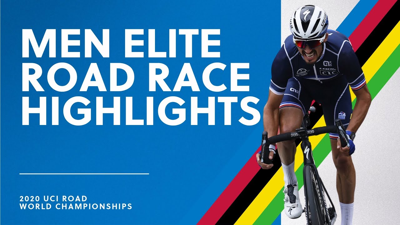 Men Elite Road Race Highlights 2020 UCI Road World Championships HD quality image
