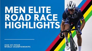 Men Elite Road Race Highlights 2020 UCI Road World Championships MD quality image