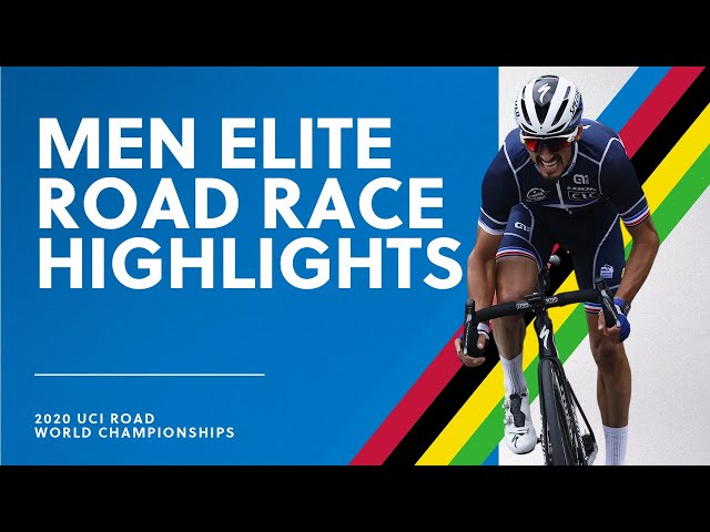 Men Elite Road Race Highlights 2020 UCI Road World Championships HQ quality image