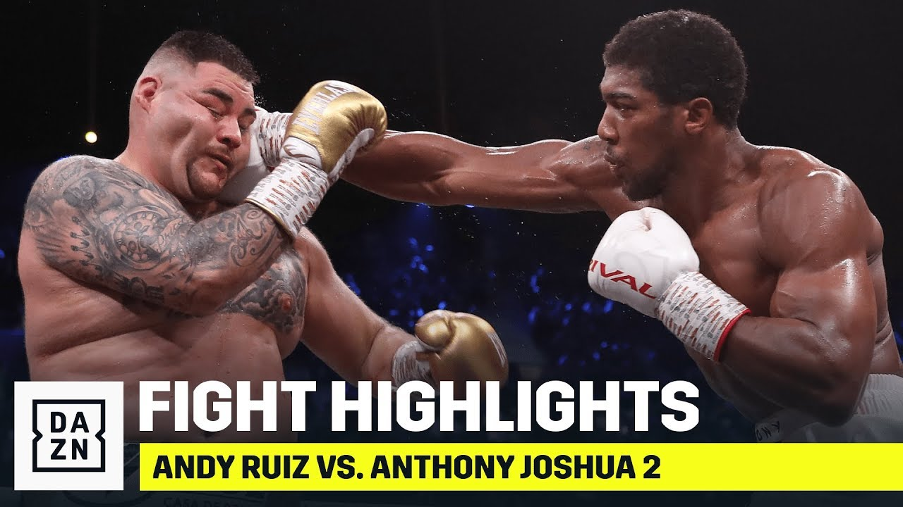 HIGHLIGHTS Andy Ruiz vs. Anthony Joshua 2 HD quality image
