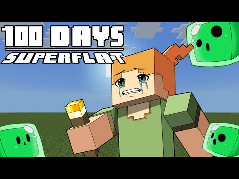 100 Days - [Minecraft Superflat] MQ quality image