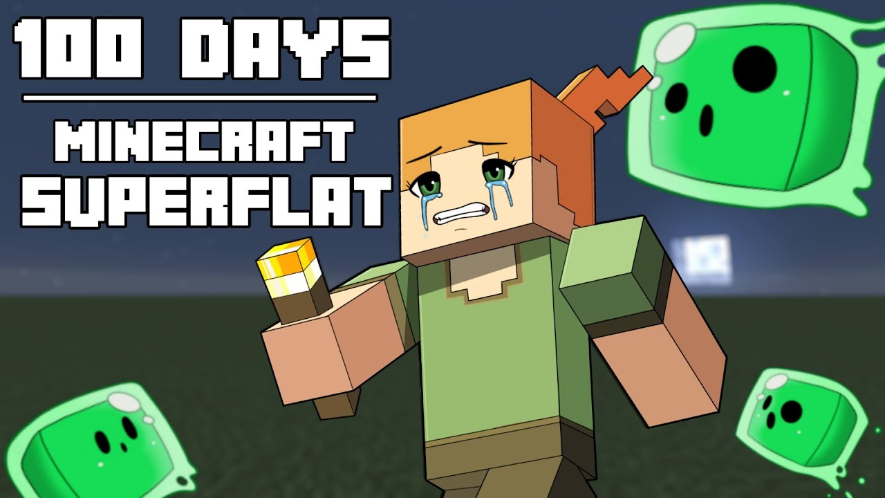 100 Days - [Minecraft Superflat] HD quality image