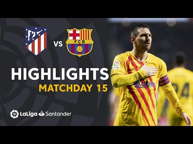 Highlights Atltico de Madrid vs FC Barcelona (0-1) HQ quality image