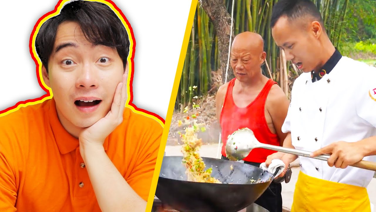Uncle Roger AMAZED by PERFECT EGG FRIED RICE (Chef Wang Gang) HD quality image