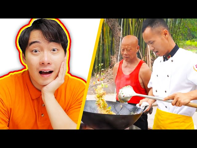 Uncle Roger AMAZED by PERFECT EGG FRIED RICE (Chef Wang Gang) HQ quality image