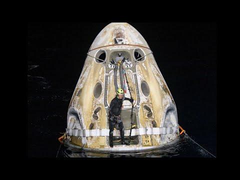 NASA's SpaceX Crew-1 Mission Splashes Down MQ quality image