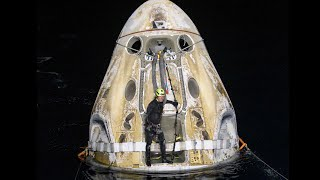 NASA's SpaceX Crew-1 Mission Splashes Down MD quality image