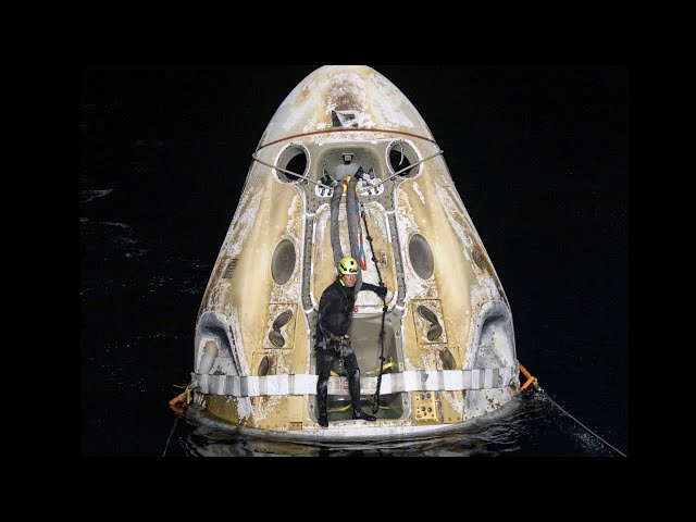 NASA's SpaceX Crew-1 Mission Splashes Down HQ quality image