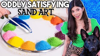 I tried Oddly Satisfying Sand Art! Screenshot
