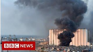 Widespread damage after huge explosion in Beirut - BBC News Screenshot