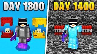 I Survived 1,400 Days in HARDCORE Minecraft... Screenshot