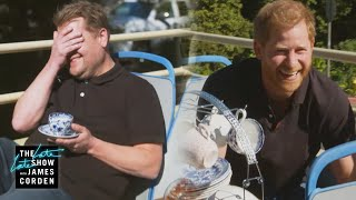 An Afternoon with Prince Harry & James Corden Screenshot