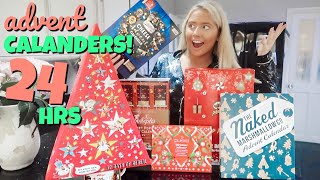 I only ate ADVENT CALENDAR foods for 24hours!! MD quality image