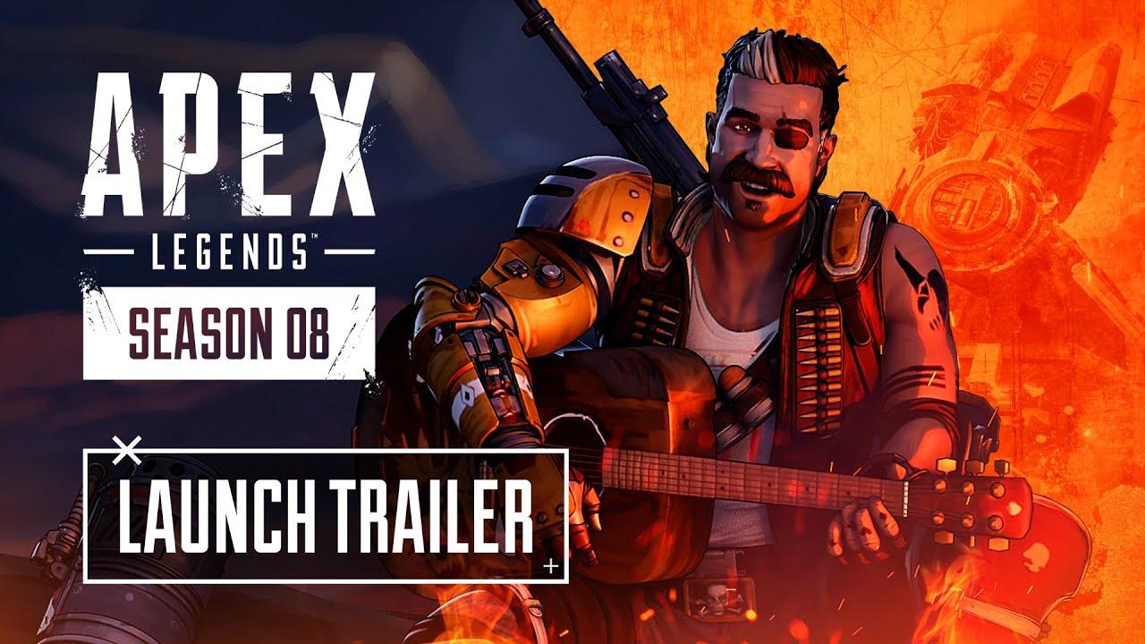 Apex Legends Season 8 Mayhem Launch Trailer HD quality image