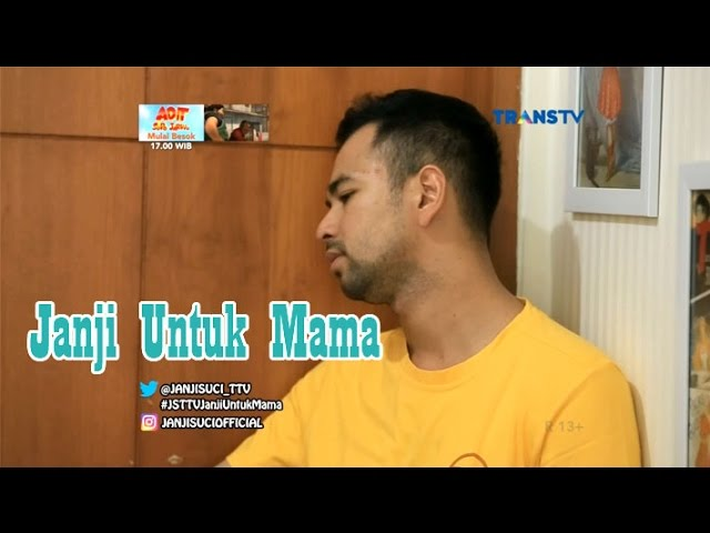 Janji Suci 19 Maret 2017 Raffi & Gigi - Janji Untuk Mama HQ quality image