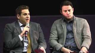 The #22JumpStreetIRL Dublin Q&A with Jonah Hill and Channing Tatum