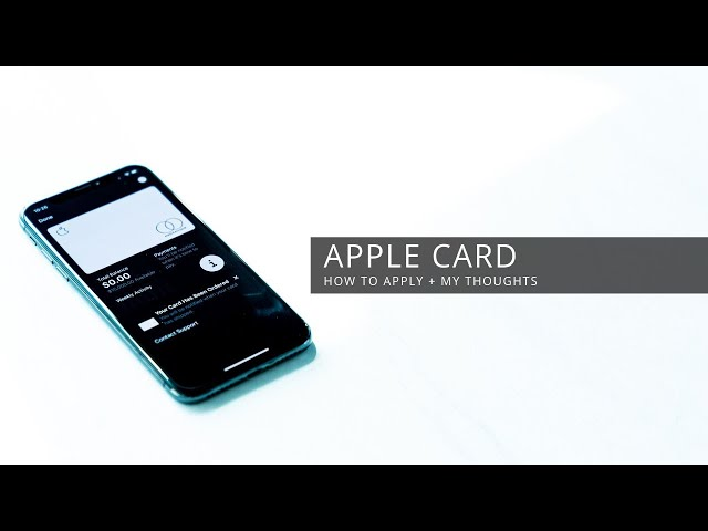 Apple Card - How To Apply + My Thoughts HQ quality image