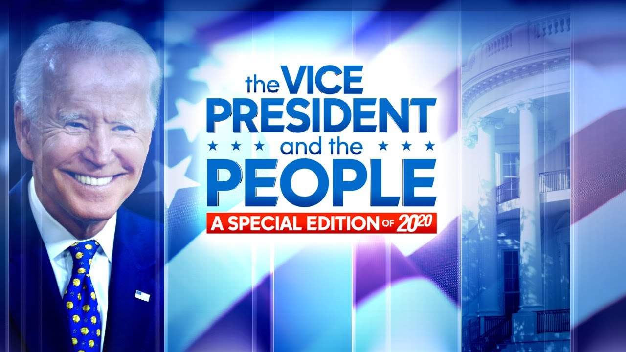 Watch ABC News Joe Biden Town Hall in Philadelphia Moderated by George Stephanopoulos HD quality image