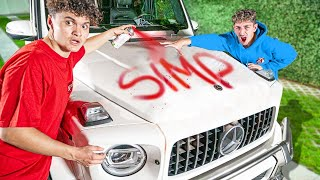 I Tricked FaZe Rug Into Thinking His Car Got Destroyed Screenshot