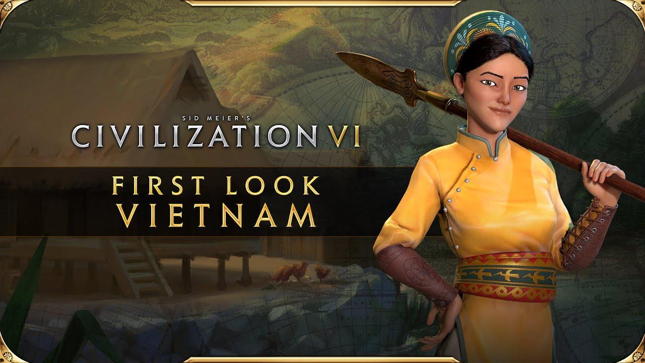 Civilization VI - First Look: Vietnam Civilization VI New Frontier Pass HD quality image