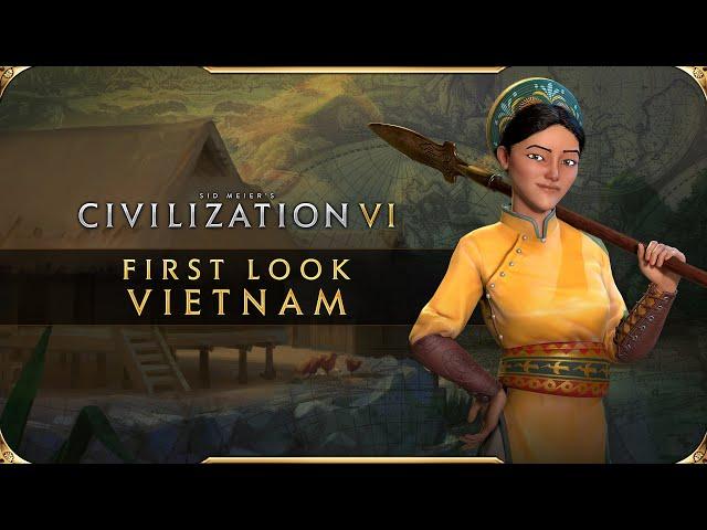 Civilization VI - First Look: Vietnam Civilization VI New Frontier Pass HQ quality image