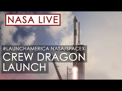 Making History: NASA and SpaceX Launch Astronauts to Space! (#LaunchAmerica Attempt May 27, 2020) MQ quality image