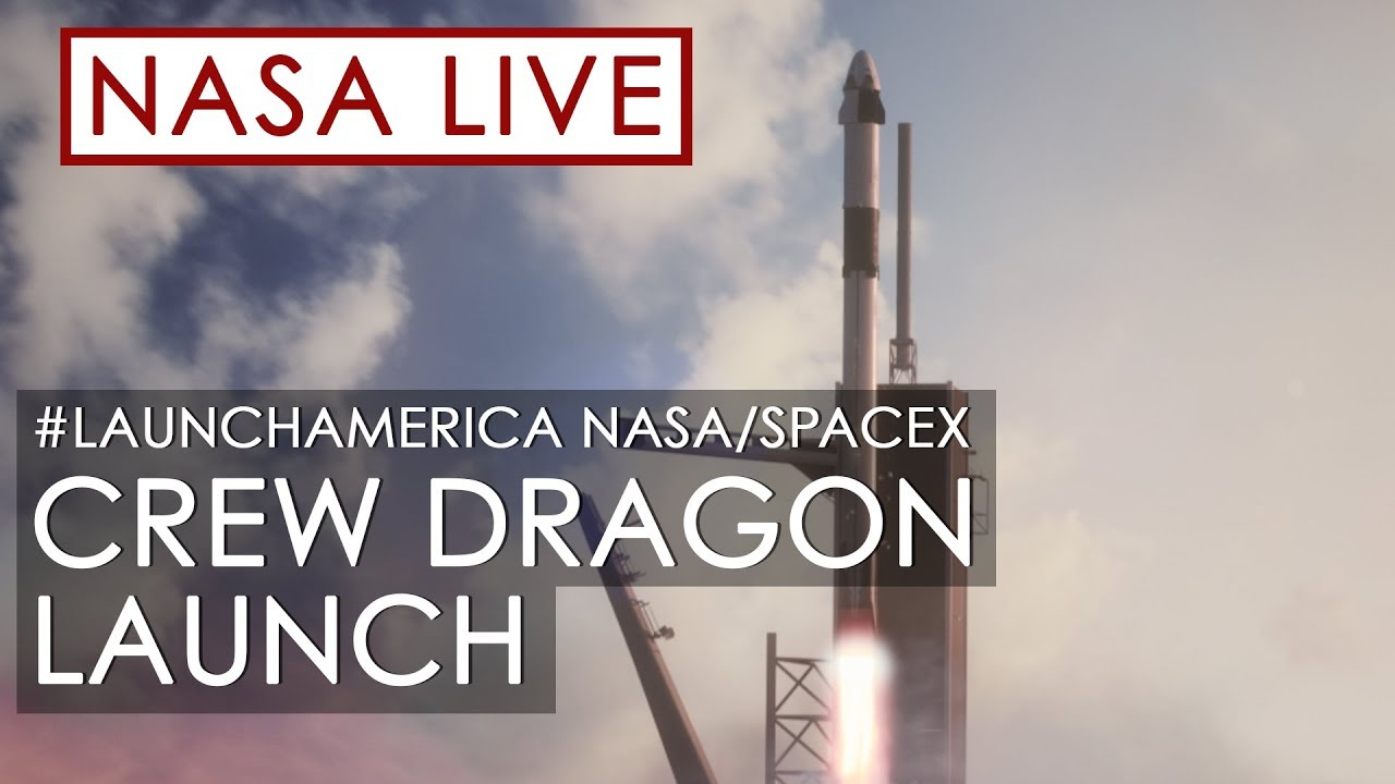 Making History: NASA and SpaceX Launch Astronauts to Space! (#LaunchAmerica Attempt May 27, 2020) HD quality image