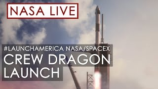 Making History: NASA and SpaceX Launch Astronauts to Space! (#LaunchAmerica Attempt May 27, 2020) MD quality image