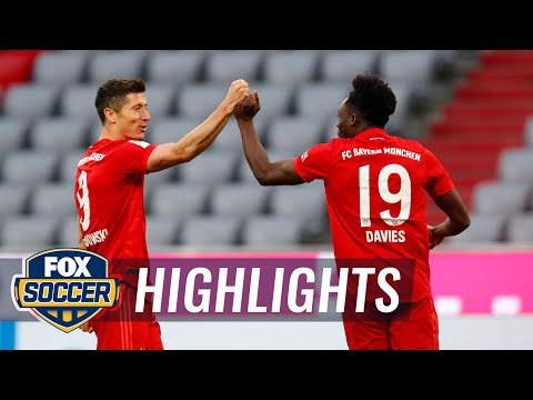 Bayern crushes Fortuna Dsseldorf, inches closer to 8th straight title 2020 Bundesliga Highlights MQ quality image