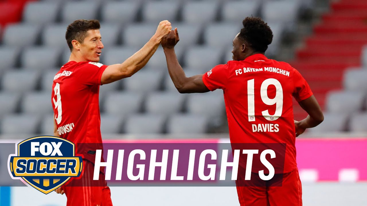 Bayern crushes Fortuna Dsseldorf, inches closer to 8th straight title 2020 Bundesliga Highlights HD quality image